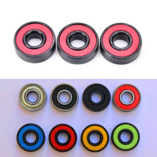 4x 608zz ceramic ball inline bearing for finger spinner//skateboard rollerXB
