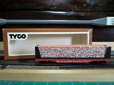 TYCO HO Scale Pulpwood Car 50 FT The Southern Railroad 334A