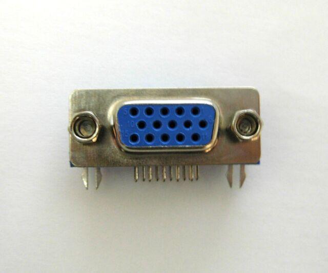 Connecteur à souder HD15 VGA femelle / Female VGA 15 pins connector for solder