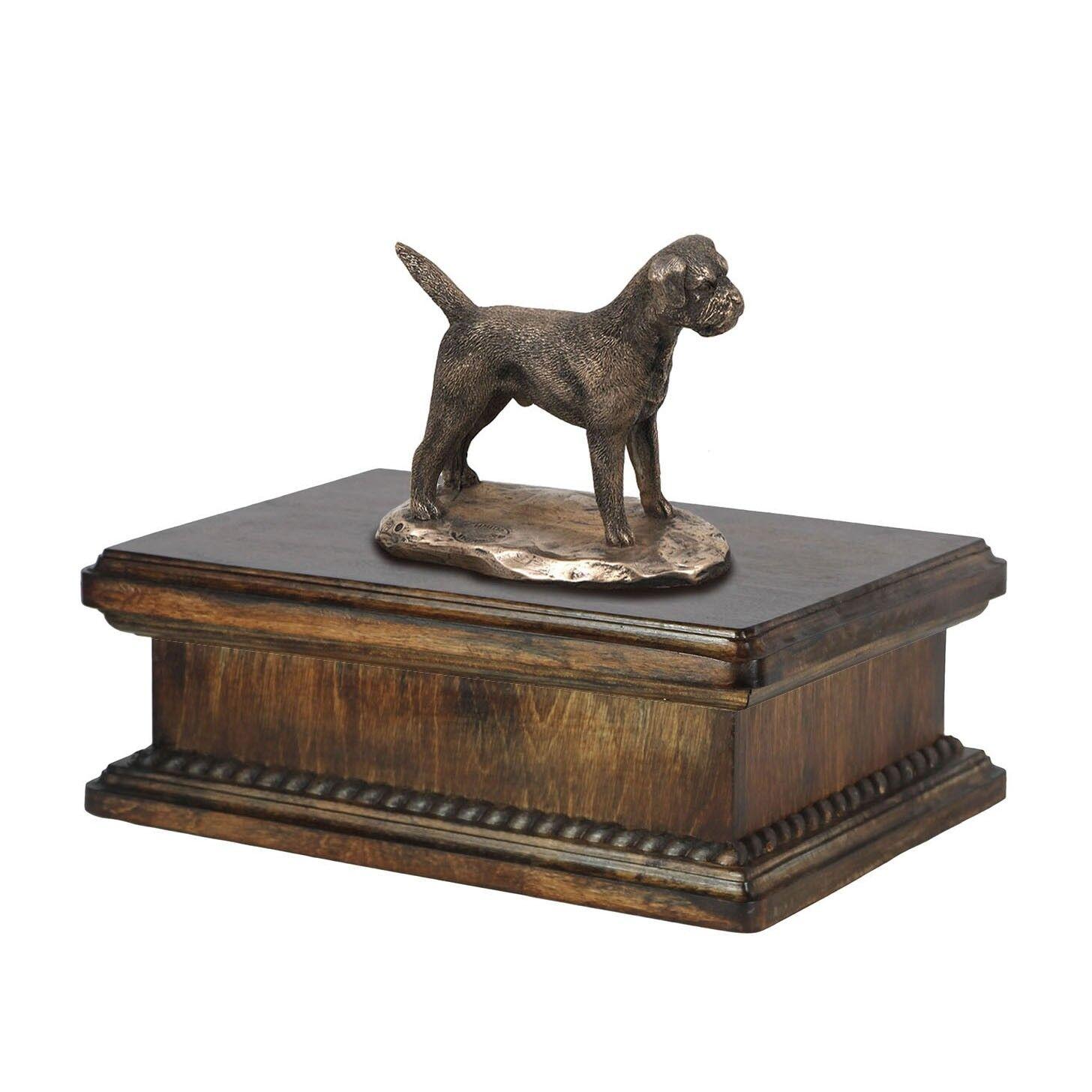 Border Terrier - urna esclusiva con l'immagine di un cane Art Dog IT