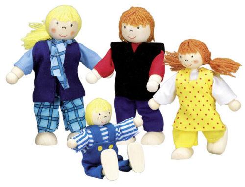 GOKI casa de muñecas-chico muñecas familia