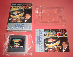 Game-Gear-Ayrton-Senna-039-s-Super-Monaco-GP-II-PAL-Sega-JRF