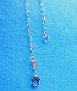 1PCS-26-inch-Wholesale-Jewelry-925-Sterling-Silver-Plated-Rolo-Chain-Necklaces