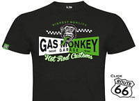 *NEW OFFICIAL* Gas Monkey Garage Tab T-Shirt - Two Tone Banner - Fast 'n' Loud