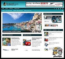 Travel Niche Blog Affiliate Income Free Domain Free Hosting Free Setup