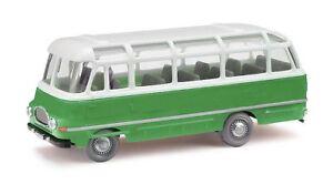 Busch-95705-Espewe-Robur-Lo-2500-Green-Car-Model-1-87-H0