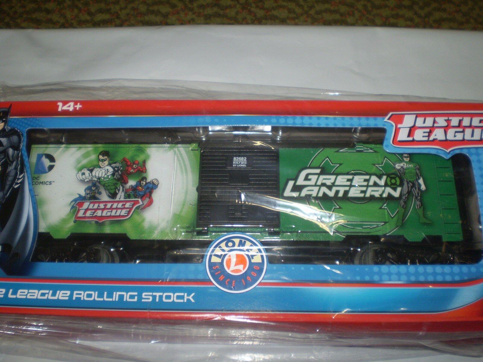 Lionel 6-82682 verde Lantern Justice League material rodante Nueva Nueva En Caja O escala