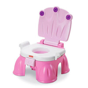 Amazing Details About Fisher Price Pink Princess Stepstool Potty Training Aid N3428 New Pabps2019 Chair Design Images Pabps2019Com