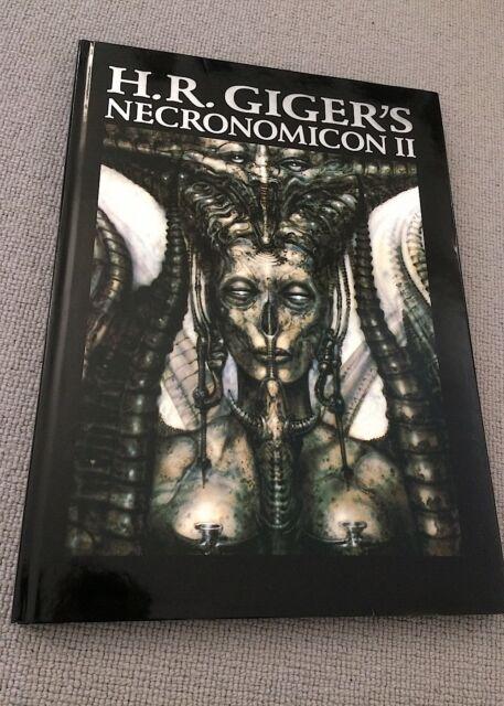 H R Giger NECRONOMICON II hardback Morpheus 2003 7th print NrFine