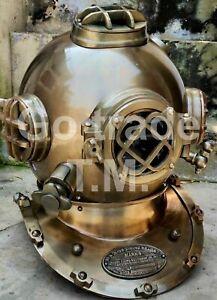 Christmas Gift Antique Diving Helmet US Navy Mark V