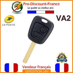 1-Coque-Cle-Plip-Clef-Telecommande-Pour-Peugeot-Citroen-2-Boutons-Lame-VA2
