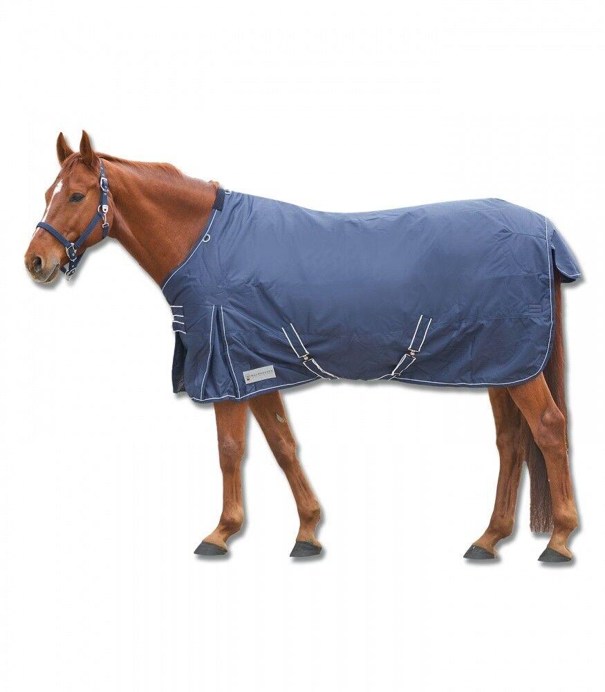 Outdoordecke Economic 200g 200g 200g WALDHAUSEN Horse moda MARINEBianco Nuovo 9b9