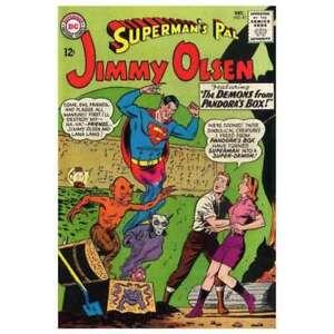 Superman-039-s-Pal-Jimmy-Olsen-1954-series-81-in-VG-condition-DC-comics-6b