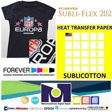 """SUBLICOTTON HEAT TRANSFER PAPER  30 PK 8.5/""""X11/"""" Sublimation paper for Cotton #1"""