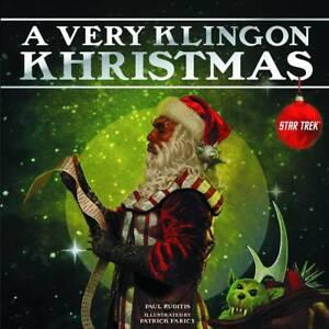 VERY KLINGON KHRISTMAS HC GALLERY BOOKS (W) Paul Ruditis (A/CA) Patrick Faricy