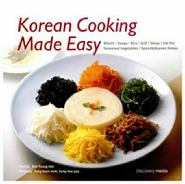 Korean Cooking Made Easy Cook Book 52 Recipes Home Food Meal
