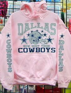 new concept ac8e9 19947 Details about Dallas COWBOYS- PINK Sweatshirt/HOODIE S, M, L, XL, 2XL, 3XL,  4XL, 5XL