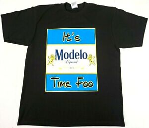 IT-039-S-MODELO-TIME-FOO-T-shirt-Mexico-Cerveza-Mexican-Beer-Men-039-s-Tee-New