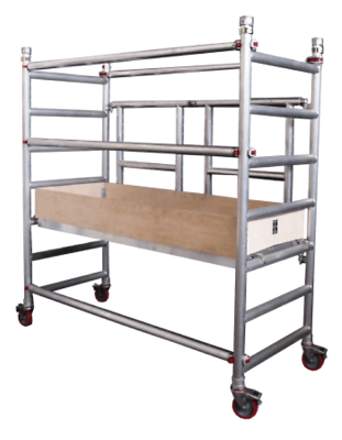 Capable Uts Aluminium Foldout Tower Scaffold Working Height Not Youngman Minimax Essex Cleaning & Janitorial Supplies Business & Industrial