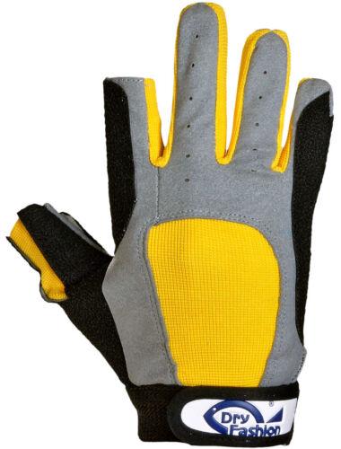Dry Fashion Protection Segelhandschuhe 2 Finger frei Wassersport Regatta Gloves Bekleidung