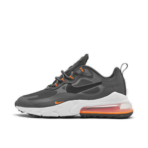 Men S Nike Air Max 270 React Casual Shoes Iron Grey Black Total