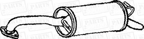 Pour Toyota Yaris 1.3 16 V 87bhp HBK Arrière 02-06 Silencieux D/'échappement Arrière Boîte