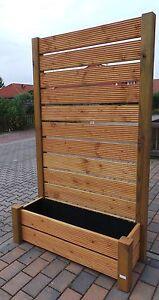 sichtschutz mobiler zaun blumenkasten blumenk bel 202x120 pflanzk bel neu ebay. Black Bedroom Furniture Sets. Home Design Ideas