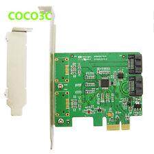 2 SATA 3.0 port PCI-e card PCI Express to internal SATA 6Gbps Port multiplier