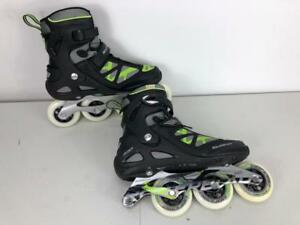 Rollerblade-Men-039-s-MacroBlade-90-Skate-Black-Green-M90-Size-11-5-DEFECT