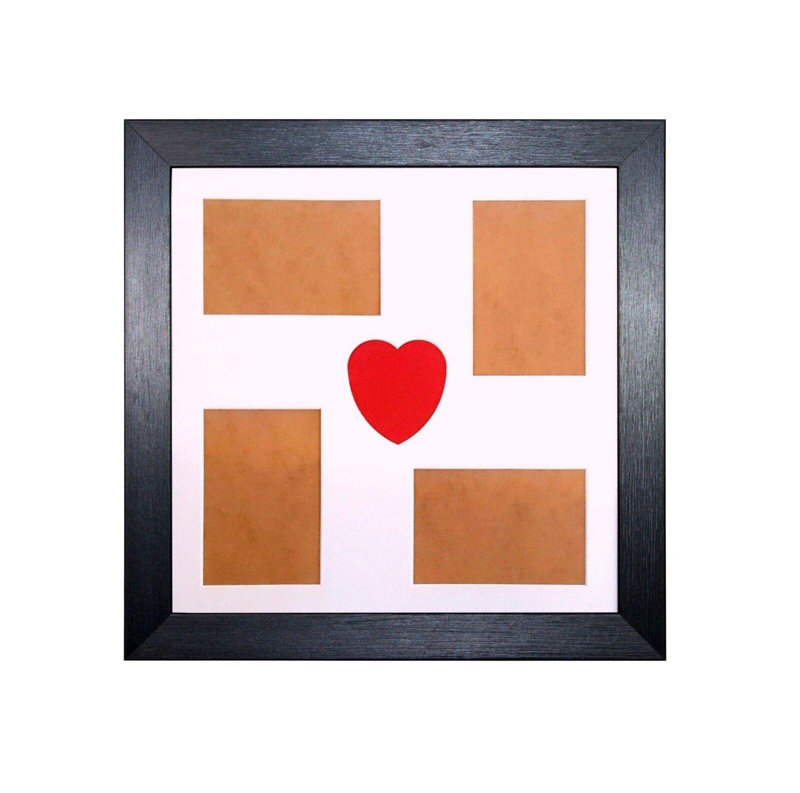 varias APERTURAS Collage Marco de fotos Rojo Corazón Amor Diseñado ...