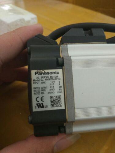 **USED Panasonic AC Servo Motor MHMD042P1U with 60days warranty#J1