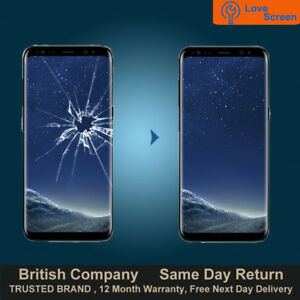 Details about Samsung S8 Plus S8+ LCD AMOLED Screen Glass Replacement  Service Same day Repair