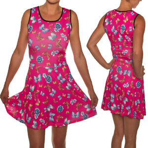 SKATER-DRESS-PINK-WITH-BUTTERFLIES-EMO-SIZES-8-18-ALTERNATIVE