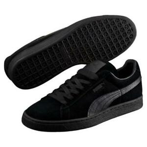 038651037a38 Puma Suede Classic Black Black Men s Shoes Size 7.5 to 13 New In Box ...