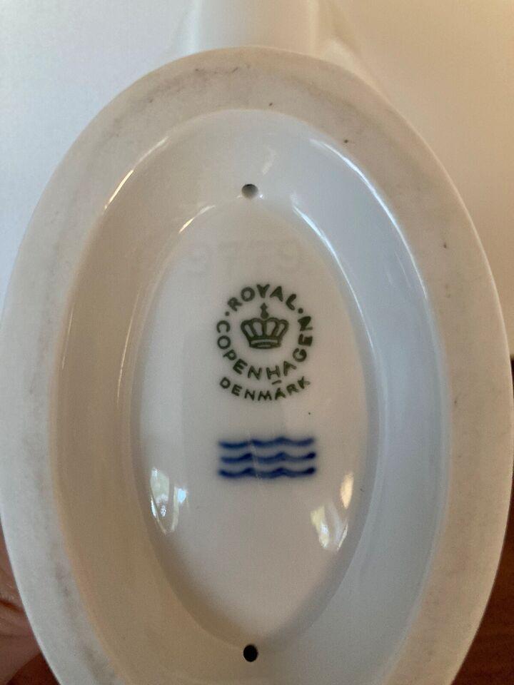 Porcelæn, Jardinere/ lysestage, Royal Copenhagen