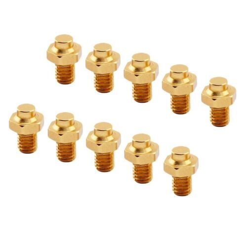 10X Bicycle Pedal Screws Hexagon Pedal Bolts Fixed Studs Anti-Slip Bolts Parts
