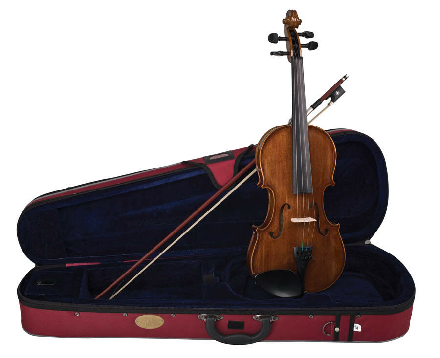 Stentor Student Series II 4/4 Full Größe Violin Outfit Set with Case & Bow