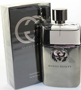 7bbb72a28 Gucci Guilty By Gucci Pour Homme 3.0 oz /90ml Men Edt Spray New In ...