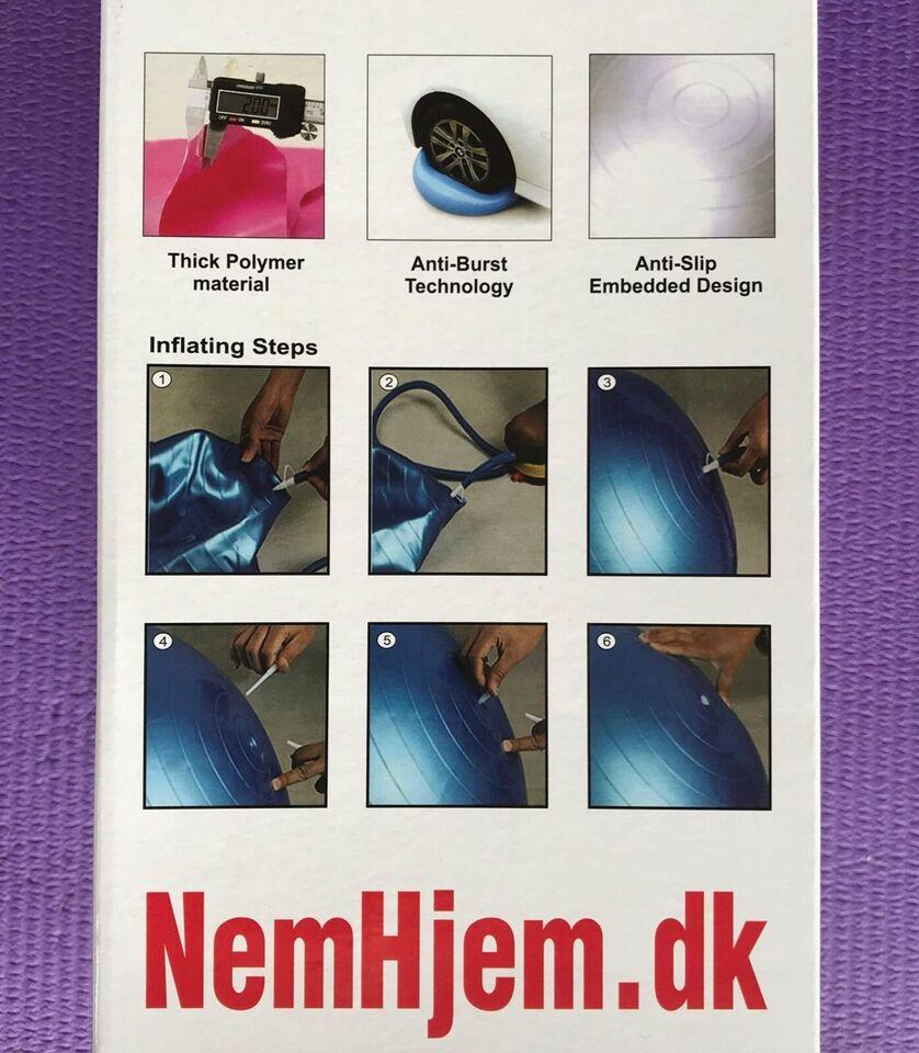 457eb38b218 Bold, Træningsbold 65 CM, NemHjem – dba.dk – Køb og Salg af Nyt og Brugt