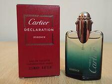 Cartier Declaration Essence for men 12.5ml EDT MINI MINIATURE PERFUME New w/ vap
