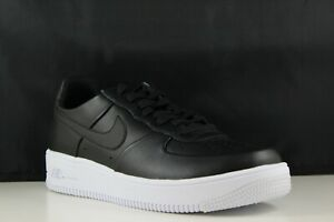 Details about Nike Air Force 1 Ultraforce LTHR Size 9 Mens BlackBlack White 845052 001