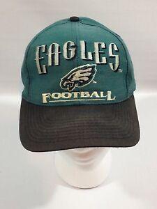 da46a3dfeb72b Image is loading Vintage-90s-Philadelphia-Eagles-Logo-7-Green-amp-
