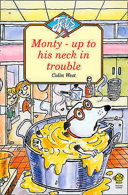 1 of 1 - Monty Up to His Neck in Trouble (Jets) by Colin West (Paperback, 1992)