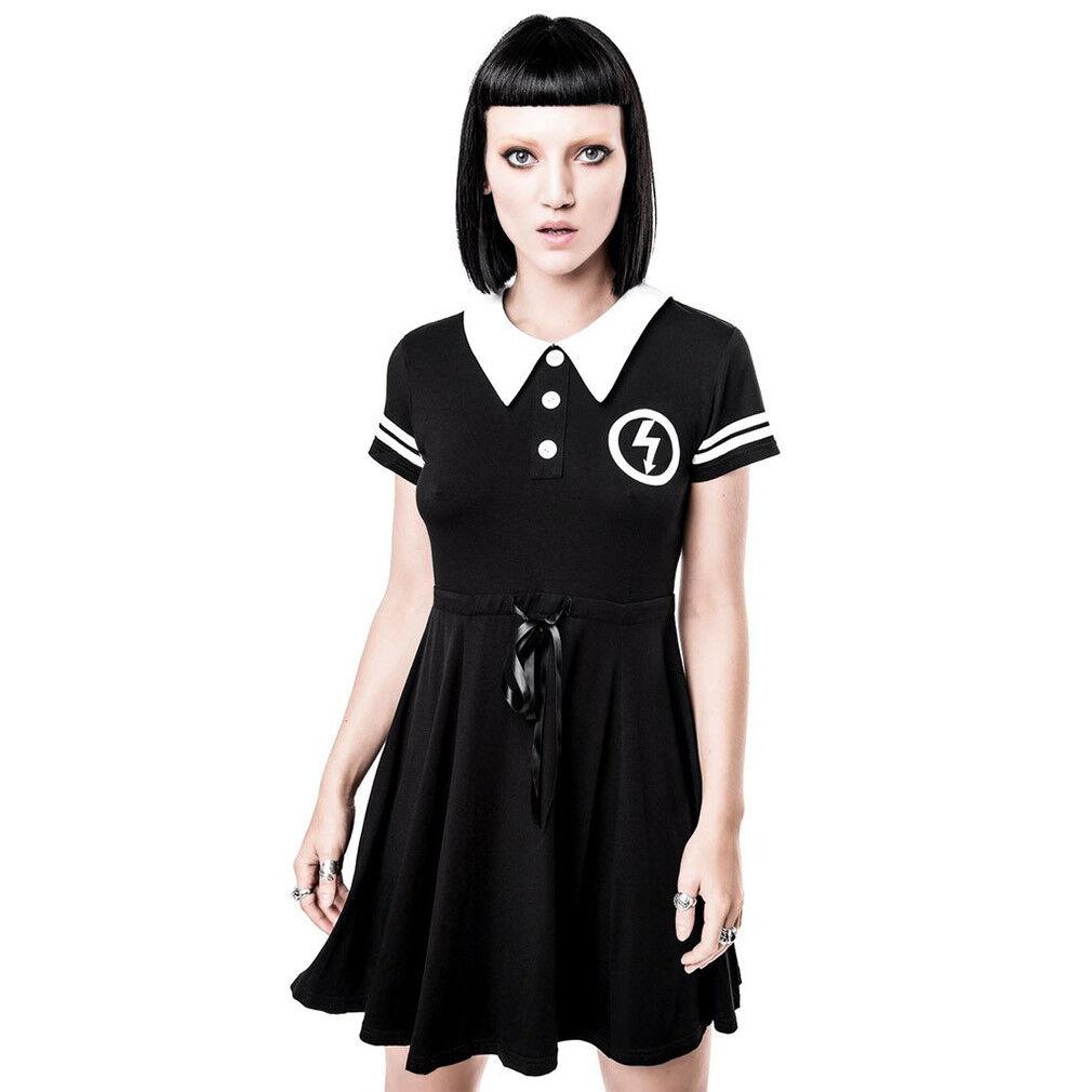 Kill STAR X Marilyn Manson gothic goth miniabito Skater Abito-not a Doll Dress