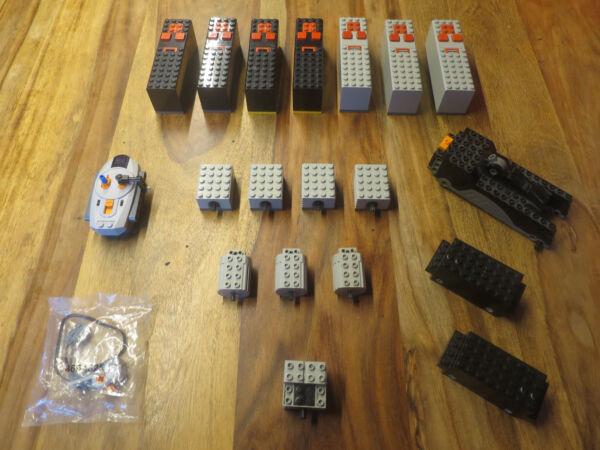 2019 Nuovo Stile (j10/00) Lego Technik Ferrovia Motori Scatola Batteria Unità Testato Kg Altamente Lucido