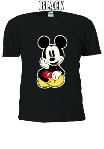 Disney Mickey Mouse Chilling Men Women Unisex T-shirt V49