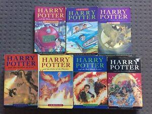 Harry-Potter-Complete-Book-Set-J-K-Rowling-1997-2007-Original-Covers