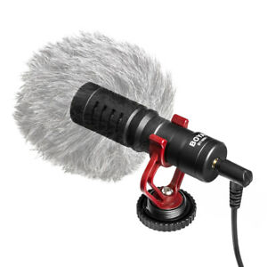 BOYA-BY-MM1-Microphone-Video-for-iPhone-Samsung-Canon-Nikon-Camera-Camcorder