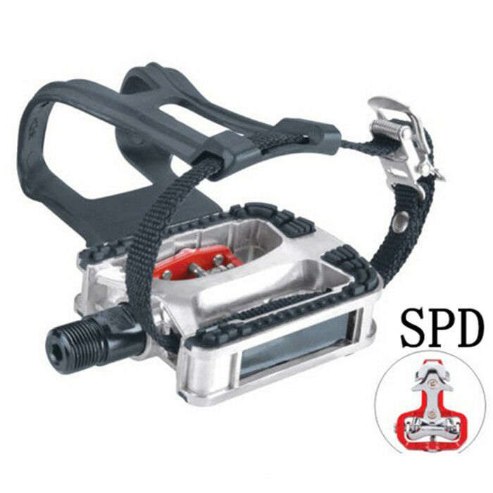Commercial Spinning Bike Pedals JD-304V Bearing Clip Cleats SPD 9 16 5 8 M18 M20