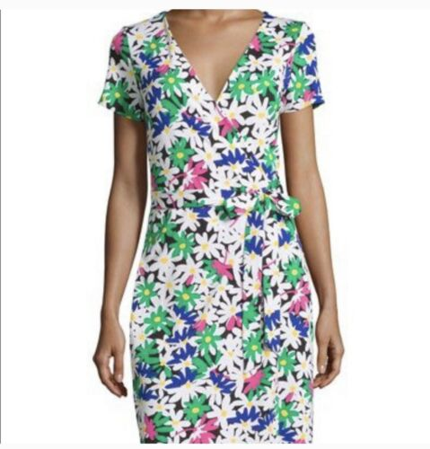 DVF short Sleeve Wrap Dress